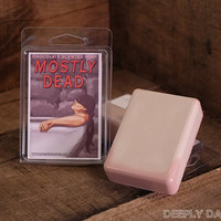MOSTLY DEAD SOAP  Geeky Gifts and Pirate Scents  Princess Bride Soap from Deeply Dapper