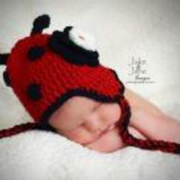 Lexi Ladybug Hat by The Daisy Baby