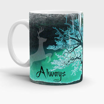 Harry Potter Always Mug, After all this time? Always - Harry potter quote mug, Severus Snape Tribute