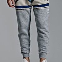 Neff Winter Camp Fleece Jogger Pants - Mens Pants - Gray