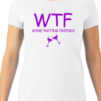 Wine-Tasting Friends Women's Tee