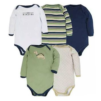 New Baby Rompers Long Sleeves Newborn Baby Clothes Winter Infant Clothes Romper Newborn Sleepwear