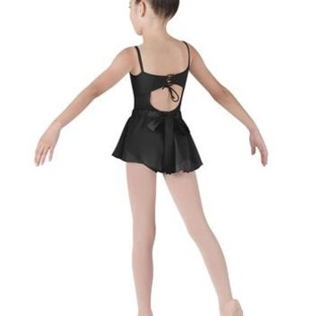 Bloch Girl's Lace Up Back Cami Leotard