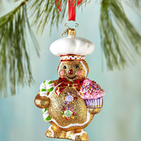 Christopher Radko Ginger Baker Christmas Ornament