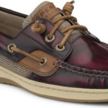 Sperry Top-Sider Ivyfish 3-Eye Boat Shoe CordovanBrown, Size 8M  Women's Shoes