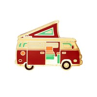 Pop Tent Camper Van Pin