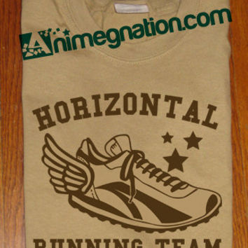 Pitch Perfect Fat Amy Inspired Scene Horizontal Running Team Glee Novelty Humour T-Shirt