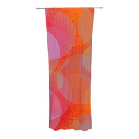 "Marianna Tankelevich ""Six"" Decorative Sheer Curtain"
