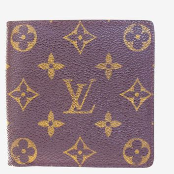 Auth LOUIS VUITTON Marco Bifold Wallet Purse Monogram Leather BN M61675 02B1941