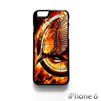 The Hunger Games Catching Fire Sign for Iphone 4/4S Iphone 5/5S/5C Iphone 6/6S/6S Plus/6 Plus Phone case