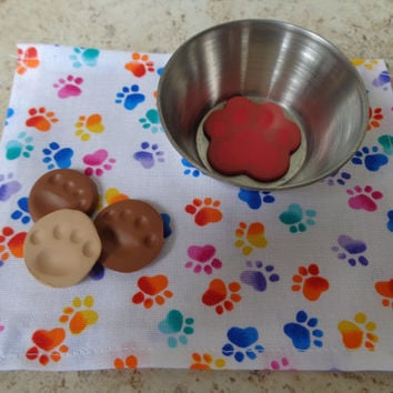 Pet Bowl, Treats, & Napkin for American Girl Doll and 18-Inch Dolls