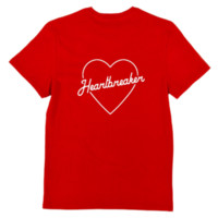 Heartbreaker T-Shirt, Red from Bad Suns