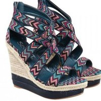 Bohemian Style Wedge Sandals