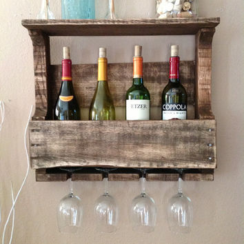 Reclaimed Wood Wine rack summer sale