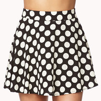 Polka Dot Skater Skirt