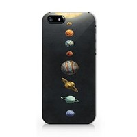 Solar System Iphone 5 Case, Solar System Iphone 5S Case Slim Protective Phone Case Hard Cover Iphone 5/5S- Emerishop