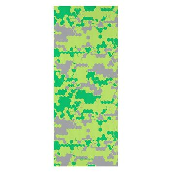 Gaiam 3mm Camouflage Yoga Mat - Kids (Green)