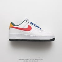 [ Free Shipping ] Ruba Abu-Nimah¡ÁNike Air Force 1 Low ¡°love¡± Running Sneaker