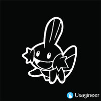 POKEMON MUDKIP GAME DECAL STICKER