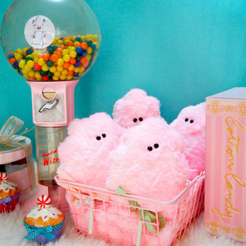Fat free sweet Scented Cotton candy plush neobaroque collection character design fine art toy girls sweet easter