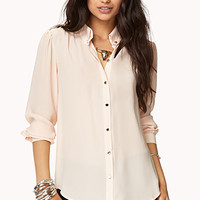 Sleek Button Down