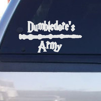 Dumbledore's Army Harry Potter (removable Vinyl Car Sticker)