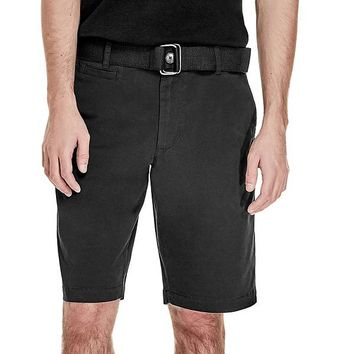 Oliver Flat Front Shorts at Guess