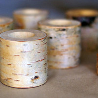 50 birch candle holders, log tea light holder, woodland wedding , rustic wedding decor, home decor, country wedding, christmas decor