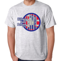 Hillary for prison 2016 men t shirt