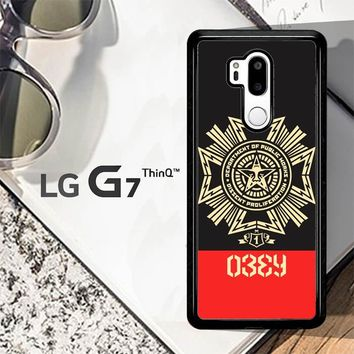 Obey Clothing O0726 LG G7 ThinQ Case