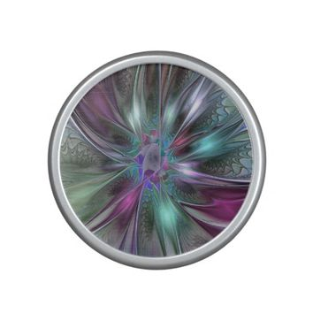 Colorful Fantasy, abstract and modern Fractal Art Speaker