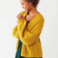 BDG Frankie Chunky Knit Cardigan   Urban Outfitters
