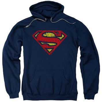 Superman - Crackle S Adult Pull Over Hoodie