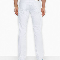 Levi's® 514™ Straight Fit Jeans - White