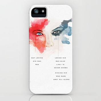 Taylor Swift: Red iPhone & iPod Case by MaFleur
