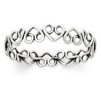 Enduring Heart Bangle Bracelet | James Avery