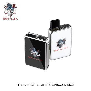 electronic cigarettes Demon Killer JBOX 420mAh Mod JBOX Pod Cartridge Ceramic Coil Best Flavor PCTG Vape Vaporizer For JULL Ecig