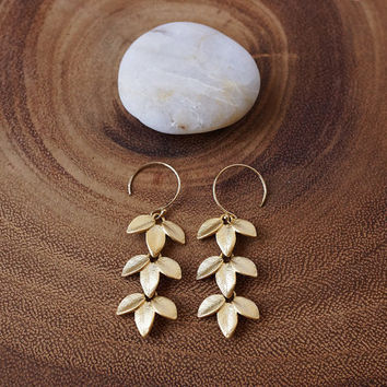 Pretty Petiole Earrings