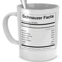 Schnauzer Facts Cup pawschcup