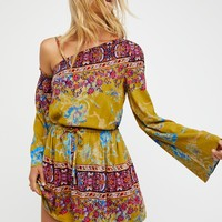 Free People Modern Nomad Mini Dress