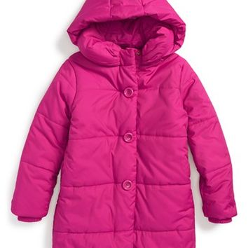 Infant Girl's kate spade new york kids puffer coat,