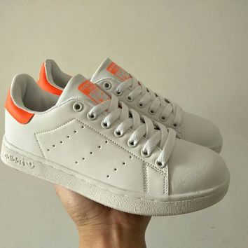 """""""Adidas Stan Smith"""" Women Casual Fashion Plate Shoes Sneakers All-match Small White Shoes"""