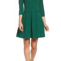 Eliza J Fit & Flare Sweater Dress | Nordstrom
