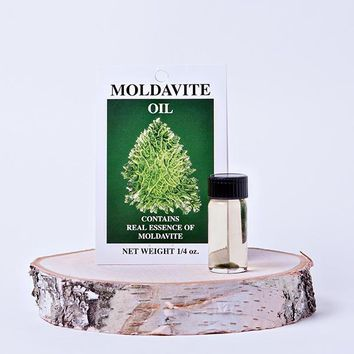 Moldavite Infused Perfume Oil