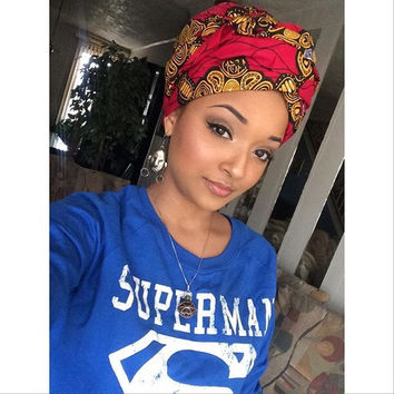 Multicolored Headwrap