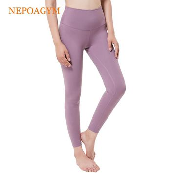 Nepoagym Women Yoga Leggings Squat Proof Yoga Pants with Hidden Pocket Sports Tights Moisture wicking Fitness Pant