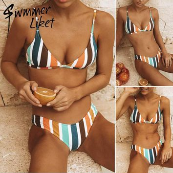 String triangle bathing suit women May bathers large size swimwear maillot girls swimsuit push up sexy biquini Micro bikini 2018
