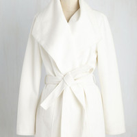 Jack by BB Dakota Boston Bake-Off Coat in Coconut | Mod Retro Vintage Coats | ModCloth.com