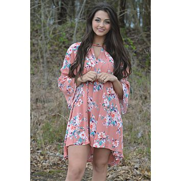 THE BEST VIEW FLORAL DRESS