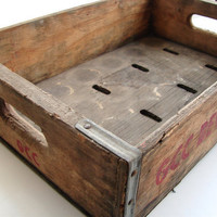Vintage Wooden Soda Crate  GCC Beverages Inc by ThirdShift on Etsy